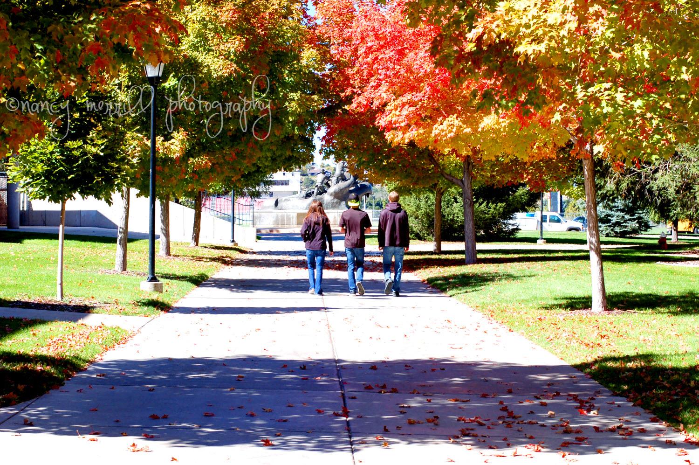 Color campus walk
