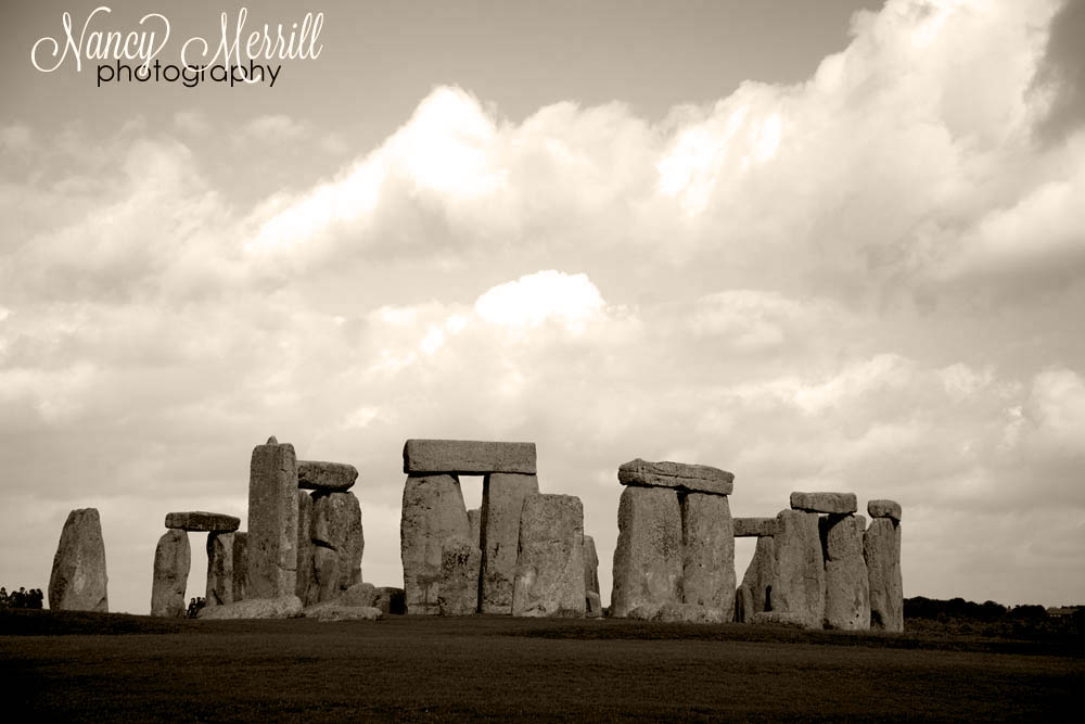 Stonehenge in sepia